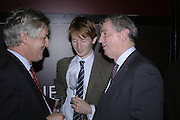 James Hughes-Onslow, Matthew Bell and Stephen Quinn, Drinks party to launch a new Thomas Pink shirt called The Mogul which has a pocket which houses one's cigar. Hostyed by the Spectator and Thomas Pink. Floridita. Wardour St. London. 1 November 2006. -DO NOT ARCHIVE-© Copyright Photograph by Dafydd Jones 66 Stockwell Park Rd. London SW9 0DA Tel 020 7733 0108 www.dafjones.com