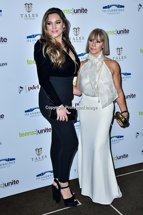 Kelly Brook, Karen Millen attend Teens Unite - Tales Untold at Rosewood London on 29 November 2019, London, UK