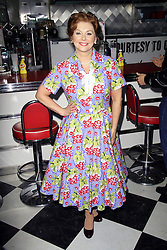 ©  London News Pictures. Cheryl Baker; Mrs Cunningham Happy Days: A New Musical - photocall, Ed's Easy Diner, London UK, 08 January 2014, Photo credit: Richard Goldschmidt/LNP