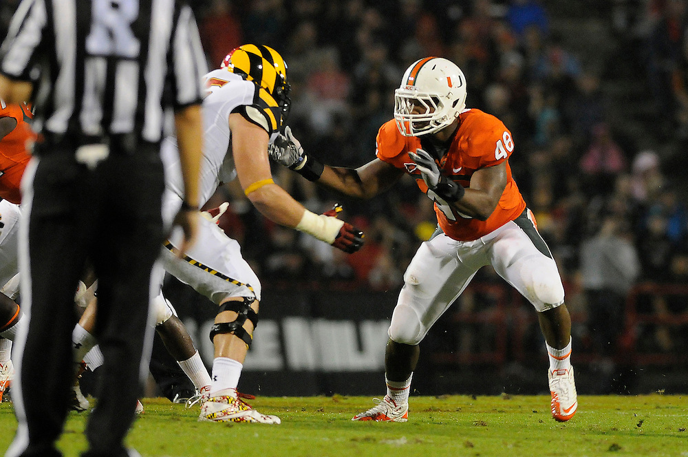 2011 Miami Hurricanes Football @ Maryland<br /> <br /> Andrew Smith