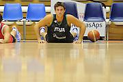 Trieste, 08/08/2012<br /> Baslet, Nazionale Italiana Maschile Senior<br /> Allenamento<br /> Nella foto: Danilo Gallinari<br /> Foto Ciamillo