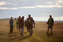 UK ENGLAND 30JUL17 - Hikers arrive at checkpoint 9 during the Trailwalker 2017 challenge across the South Downs, England.<br /> <br /> jre/Photo by Jiri Rezac<br /> <br /> © Jiri Rezac 2017
