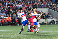 OTTAWA, ON - MAY 23: Amway Canadian Championship semi-final match between the Ottawa Fury FC and Toronto FC at TD Place Stadium in Ottawa, ON. Canada on May 23, 2017.<br /> <br /> PHOTO: Steve Kingsman/Freestyle Photography/Ottawa Fury FC