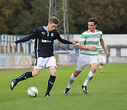 Dundee's Craig Wighton and Celtic's Aidan Mcilduff - Celtic v Dundee  SPFL Development League at Cappielow<br /> <br />  - &copy; David Young - www.davidyoungphoto.co.uk - email: davidyoungphoto@gmail.com