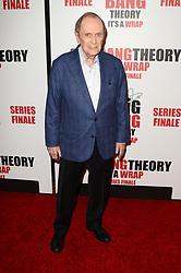 May 1, 2019 - Pasadena, CA, USA - LOS ANGELES - MAY 1:  Bob Newhart at the ''The Big Bang Theory'' Series Finale Party at the Langham Huntington Hotel on May 1, 2019 in Pasadena, CA (Credit Image: © Kay Blake/ZUMA Wire)