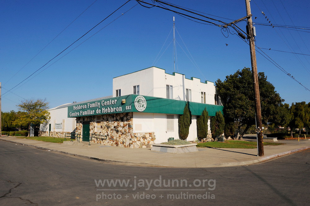 The Hebbron Community Center, on the corner of N. Hebbron Avenue and Fremont Street. Officers Lofton and Lopez have a permanent office on the second floor.