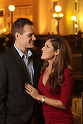 Boston, MA 102211  Matt            and Michelle Stein at the Boston Harbor Hotel for their engagement photos. Photographed on October 22, 2011 by Essdras M Suarez/ EMS Photography...Joshua, Matt, Michelle, Beatriz and Martin.