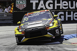 June 23, 2018 - Vila Real, Vila Real, Portugal - Denis Dupont from Belgium in Audi RS 3 LMS of Audi Sport Team Comtoyou in action during the Race 1 of FIA WTCR 2018 World Touring Car Cup Race of Portugal, Vila Real, June 23, 2018. (Credit Image: © Dpi/NurPhoto via ZUMA Press)