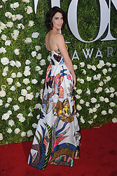 June 11, 2017 - New York, NY, USA - June 11, 2017  New York City..Cobie Smulders attending the 71st Annual Tony Awards arrivals on June 11, 2017 in New York City. (Credit Image: © Kristin Callahan/Ace Pictures via ZUMA Press)