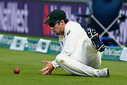 Travis Head of Australia fielding during the International Test Match 2019 match between England and Australia at Lord's Cricket Ground, St John's Wood, United Kingdom on 18 August 2019.