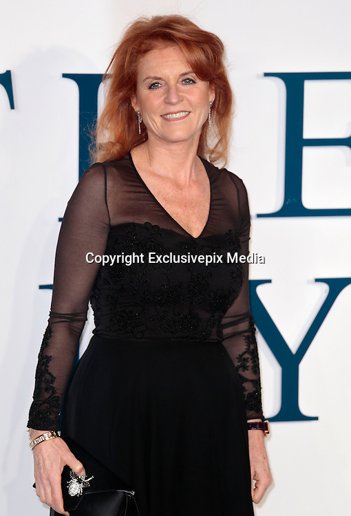"""Dec 9, 2014 - """"The Theory Of Everything"""" - UK Premiere - Red Carpet Arrivals at Odeon,  Leicester Square, London<br /> <br /> Pictured: Sarah Ferguson<br /> ©Exclusivepix Media"""