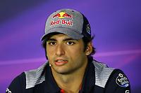 Barcellona - Formula Gran Premio di Spagna - Nella foto:  Carlos Sainz Jr. -Toro Rosso-Ferrari - Formula 1