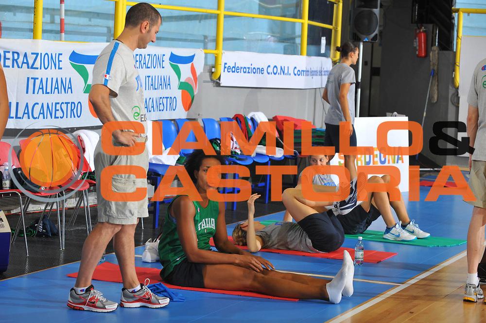 DESCRIZIONE : Cagliari Qualificazioni Italia Croazia Allenamento<br /> GIOCATORE : Alexandre Marte<br /> SQUADRA : Nazionale Italia Donne <br /> EVENTO :  Qualificazioni Collegiale Nazionale Italiana Femminile <br /> GARA : Italia Croazia<br /> DATA : 02/08/2010 <br /> CATEGORIA : ritratto allenamento<br /> SPORT : Pallacanestro <br /> AUTORE : Agenzia Ciamillo-Castoria/M.Gregolin<br /> Galleria : Fip Nazionali 2010 <br /> Fotonotizia : Cagliari Qualificazioni Italia Croazia<br /> Predefinita :