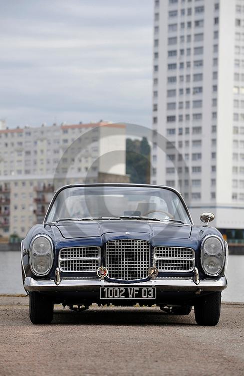 20/10/08 - VICHY - ALLIER - FRANCE - Essais FACEL VEGA Type II de 1962 - Photo Jerome CHABANNE