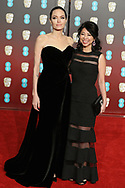 18.02.2018; London, England: ANGELINA JOLIE AND LOUNG UNG<br /> attends the 71st British Academy Film Awards (BAFTA) at the Royal Albert Hall, London<br /> Mandatory Photo Credit: &copy;NEWSPIX INTERNATIONAL<br /> <br /> IMMEDIATE CONFIRMATION OF USAGE REQUIRED:<br /> Newspix International, 31 Chinnery Hill, Bishop's Stortford, ENGLAND CM23 3PS<br /> Tel:+441279 324672  ; Fax: +441279656877<br /> Mobile:  07775681153<br /> e-mail: info@newspixinternational.co.uk<br /> Usage Implies Acceptance of Our Terms &amp; Conditions<br /> Please refer to usage terms. All Fees Payable To Newspix International