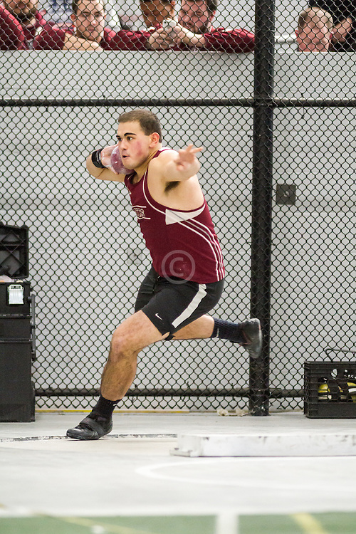 Boston University John Terrier Classic Indoor Track & Field: mens shot put, Bates, Nick Margitza