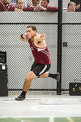 Boston University John Terrier Classic Indoor Track & Field: mens shot put, Bates, Nick Margitza