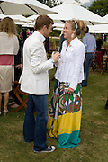 Tom Aikens; Amber Nuttall, The Cartier Style et Luxe Concours lunch at the Goodwood Festival of Speed. July 13, 2008  *** Local Caption *** -DO NOT ARCHIVE-© Copyright Photograph by Dafydd Jones. 248 Clapham Rd. London SW9 0PZ. Tel 0207 820 0771. www.dafjones.com.