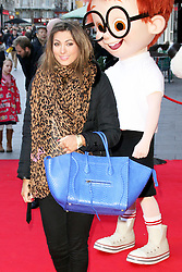 © Licensed to London News Pictures. 01/02/2014, UK. Luisa Zissman, Mr Peabody & Sherman 3D - VIP Gala Screening, VUE Leicester Square, London UK, 01 February 2014. Photo credit : Brett D. Cove/Piqtured/LNP