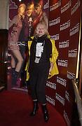 Jibby Beane. M.A.C. Aids fund benefit concert given by Elton John. Shepherds Bush Empire. 16 December 2002.<br />© Copyright Photograph by Dafydd Jones 66 Stockwell Park Rd. London SW9 0DA Tel 020 7733 0108 www.dafjones.com