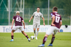 SAMARDZIC Miral of NK Olimpija vs TIJANIC David of NK TRIGLAVduring football match between NK KRANJ TRIGLAV  and NK OLIMPIJA in 13th Round of Prva liga Telekom Slovenije 2019/20, on October 6, 2019 in Sports park, Kranj, Slovenia.. Photo by Peter Podonik / Sportida