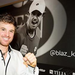 20141125: SLO, Tennis - Media day of Slovenian professional tennis player Blaz Kavcic