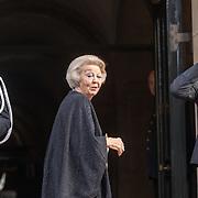 NLD/Amsterdam/20191128 - Koning Willem-Alexander reikt Erasmusprijs 2019 uit, Prinses Beatrix