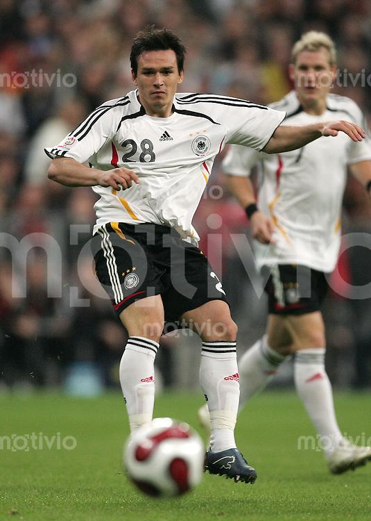 Euro 2008 Qualifikation Deutschland - Tschechische Republik Piotr TROCHOWSKI (GER).