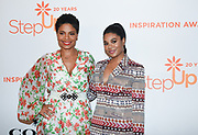 Sanaa Lathan and Regina Hall attend Step Up's 14th Annual Inspiration Awards at the Beverly Wilshire Four Seasons Hotel on June 1, 2018 in Beverly Hills, California