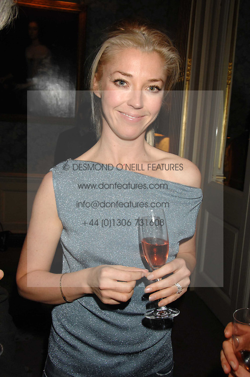 TAMARA BECKWITH at a party to celebrate the publication of Top Tips For Girls by Kate Reardon held at Claridge's, Brook Street, London on 28th January 2008.<br /><br />NON EXCLUSIVE - WORLD RIGHTS