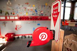 Scenes from Pinterest Headquarters in San Francisco, California.
