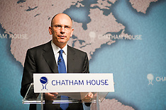 JULY 16 2013 Italy's Prime Minister speaks at Chatham House
