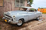 Old Buick in Santiago de Cuba, Cuba.