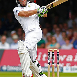 19/08/2012 London, England. South Africa's AB de Villiers batting during the third Investec cricket international test match between England and South Africa, played at the Lords Cricket Ground: Mandatory credit: Mitchell Gunn