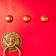 Door nails,  Men Ding, Kaohsiung County Confucius Temple, Cishan Township, Kaoshiung County, Taiwan