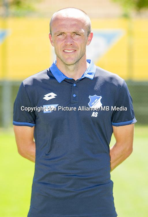 German Bundesliga - Season 2016/17 - Photocall 1899 Hoffenheim on 19 July 2016 in Zuzenhausen, Germany: assistant coach Alfred Schreuder. Photo: APF | usage worldwide