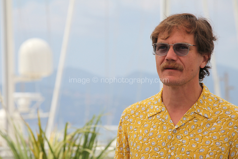 Actor Michael Shannon at the Farenheit 451 film photo call at the 71st Cannes Film Festival, Saturday 12th May 2018, Cannes, France. Photo credit: Doreen Kennedy
