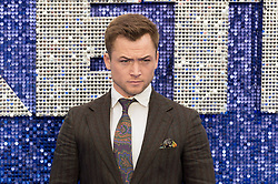 May 20, 2019 - London, England, United Kingdom - Taron Egerton arrives for the UK film premiere of 'Rocketman' at Odeon Luxe, Leicester Square on 20 May, 2019 in London, England. (Credit Image: © Wiktor Szymanowicz/NurPhoto via ZUMA Press)