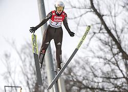 02.02.2019, Energie AG Skisprung Arena, Hinzenbach, AUT, FIS Weltcup Ski Sprung, Damen, Wertungsdurchgang, im Bild Svenja Wuerth (GER) // Svenja Wuerth (GER) during the woman's Competition Jump of FIS Ski Jumping World Cup at the Energie AG Skisprung Arena in Hinzenbach, Austria on 2019/02/02. EXPA Pictures © 2019, PhotoCredit: EXPA/ Reinhard Eisenbauer