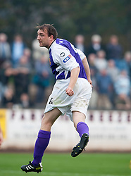 Annan Athletic's Scott Gibson..Berwick Rangers 0 v 1 Annan Athletic, 1/10/2011..Pic © Michael Schofield.