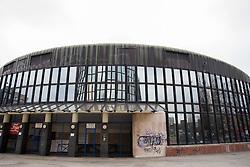 Cibona Sports centre at Cibona Tower, on January 4, 2013 in Zagreb, Croatia. (Photo By Vid Ponikvar / Sportida.com)