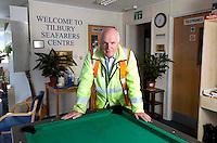 112112/12 Sea People Project - Deacon Paul Glock, Mission to Seafarers, Tilbury Docks