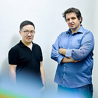 Hyperlight co-founders Mian Zhang and Marko Loncar