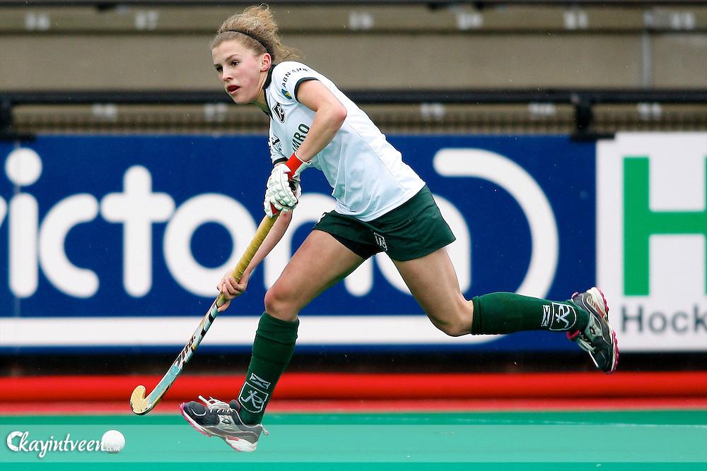 ROTTERDAM - Rotterdam - Laren, Dames hoofdklasse oefenwedstrijd, seizoen 2010-211, Hockey club Rotterdam Maria Verschoor