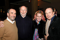David Munns, Chris Wright CBE, Angie Robertson and Jeremy Marsh, Nordoff Robbins Carol Service  2011 sponsored by Coutts. London..Wednesday, 14. Dec 2011
