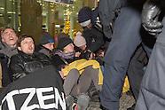 """Identitarians"" block CDU HQ"