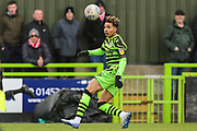Forest Green Rovers Odin Bailey(42), on loan from Birmingham City on the ball during the EFL Sky Bet League 2 match between Forest Green Rovers and Walsall at the New Lawn, Forest Green, United Kingdom on 8 February 2020.
