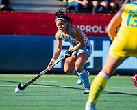 AMSTELVEEN -  Maria GRANATTO (ARG) . Semi Final Pro League  women, Argentina-Australia (1-1) . Austr. wns. COPYRIGHT KOEN SUYK