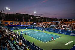 Arena during 2nd Semifinal of ATP Challenger Tilia Slovenia Open 2016, on August 12, 2016 in Sports centre, Portoroz/Portorose, Slovenia. Photo by Vid Ponikvar / Sportida