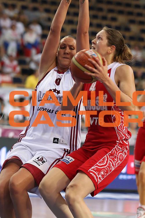 DESCRIZIONE : Lodz Poland Polonia Eurobasket Women 2011 Quarter Final Round Lettonia Russia Latvia Russia<br /> GIOCATORE : Olga Arteshina<br /> SQUADRA : Russia<br /> EVENTO : Eurobasket Women 2011 Campionati Europei Donne 2011<br /> GARA : Lettonia Russia Latvia Russia<br /> DATA : 29/06/2011<br /> CATEGORIA : <br /> SPORT : Pallacanestro <br /> AUTORE : Agenzia Ciamillo-Castoria/E.Castoria<br /> Galleria : Eurobasket Women 2011<br /> Fotonotizia : Lodz Poland Polonia Eurobasket Women 2011 Quarter Final Round Lettonia Russia Latvia Russia<br /> Predefinita :